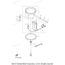 Tripa Velocimetro Yamaha Dragstar 650 5bn835500200 Grdmotos