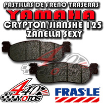 Pastilla De Freno Del Yamaha Crypton/sexy Frasle Motos 440