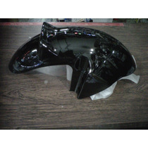 Guardabarro Delantero Tunning Negro Para Motos 110cc - 2r