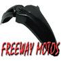 Guardabarro Delantero Honda Pop Negro Original Freeway Motos