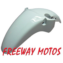 Guardabarro Del Honda Twister 250 Blanco Freeway Motos!
