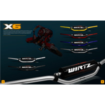 Manubrio Wirtz X6 Cross Bar + Path Ideal Enduro/calle
