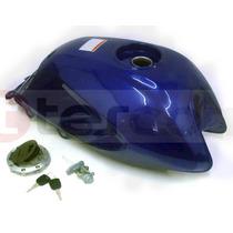 Tanque De Nafta Azul Honda Storm - Motor Crue