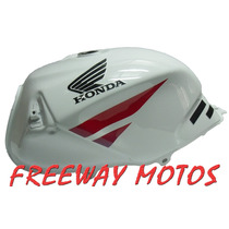 Tanque De Nafta Honda Twister Blanco Original Freeway Motos