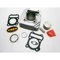 Kit Cilindro Suzuki En 125 Piston + Perno + Aros + Juntas