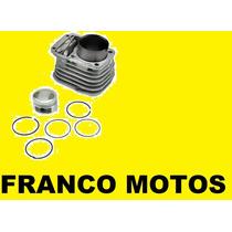 Kit Cilindro Zanella Motomel Cg Piston Con Aros Franco Motos
