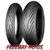 Cubierta Michelin 180/ 55 X 17 Pilot Power 3 Freeway Motos