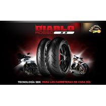 Cubierta Pirelli Diablo Rosso 2 110 70 17 Motos Miguel