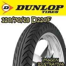 Cubierta Dunlop 120 70 18 D220 Japon Yamaha Tdm 900 Fasmotos