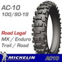 Cubierta 100 90 19 Michelin Ac10 Rear Cr,kx,yz,crf,kxf