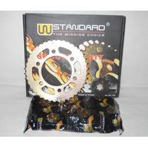 Kits De Transmision Bajaj Pulsar Rouser 220 Cc - Fas Motos