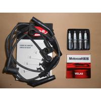 Bujias Motorcraft Y Cables Delphi Ford Focus 1.6 Rocam