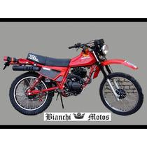 Escape Silenciador Honda Xl 125 Tipo Original Bianchi Motos