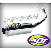 Escape Spr Turbo Sprint Yamaha Ybr 125 Motos440!!!!!