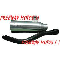 Escape Super Trapp Yamaha Xtz/tornado/xr En Freeway Motos!!