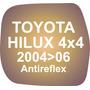Vidrio Espejo Retrovisor Toyota Hilux 4x4 2004-06 Antireflex