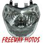 Optica Delantera Bajaj Rouser 135 Farol En Freeway Motos !!