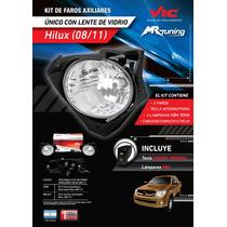 Kit De Faros Auxiliares Toyota Hilux 2008-2011 Vic. La Plata