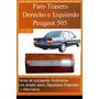 Faro Trasero Derecho Peugeot 505 87/91 Alternativo