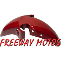 Guardabarro Del Twister 250 Rojo 2008/13 Orig Freeway Motos!