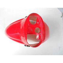 Guardabarro Delantero Zanella Lambretta 150 Rojo Original