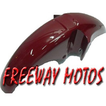 Guardabarro Delantero Honda Cg 150 Bordo En Freeway Motos!