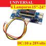 Inverter Universal 4lamp. Monitor Ve38 Lcd 15 -22