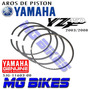 Aros De Piston Yamaha Yzf 450 2003 2008 Original Mg Bikes