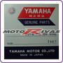Juego De Aros Piston Yamaha Yfz450 - Yfz450r Genuine Japon