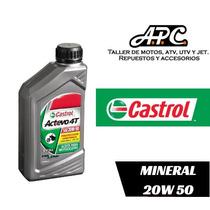 Aceite Mineral Castrol Actevo 4t 20w-50 Apc Motos