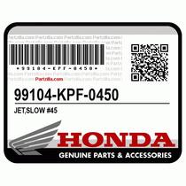 Chicleur Jet De Baja Genuino #45 Honda Trx 450 98/2004