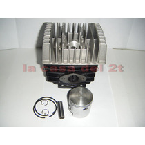 Cilindro Zanella Sol Due 5t 70 80 + Kit Piston+tapa Cilindro