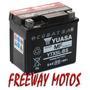 Bateria Yuasa Ytx5l-bs Honda Titan Cg En Freeway Motos !