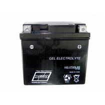 Bateria De Moto Hellux Gel Tipo Yuasa Ytx5lbs 12v