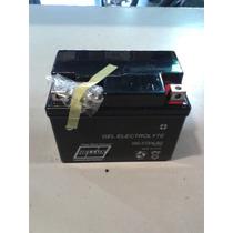 Bateria De Moto Hellux Gel Yb4lb 12v Medida 120x71x91mm