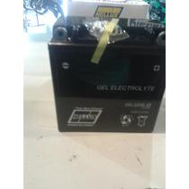 Bateria De Moto Hellux Gel 12n9-3b 12v Medida 135x75x139mm