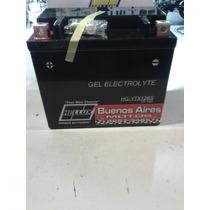 Bateria De Moto Hellux Gel Ytx12bs 12v Medida 151x87x130mm
