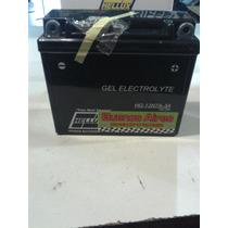 Bateria De Moto Hellux Gel 12n7a-3a 12v Medida 149x60x130mm