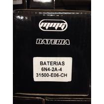 Batería 6n4-2a-4 Suzuki A.x 100 Franco Motos En Moreno