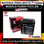 Bateria Yuasa Ytx7l-bs Motos Tornado Twister Falcon Y Mas