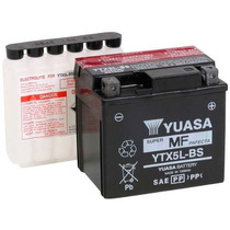 Bateria Yuasa Ytx5lbs Honda Cg150 Titan Xr Biz Elite Yam Ttr
