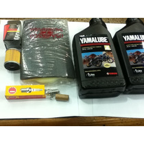 Kit Service Brasil Yamaha Ybr 250 Filtro Aire, Aceite, Bujia