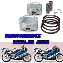 Kit Piston Perno Aros Motos Ninja 250 Kawasaki Solo Fasmotos