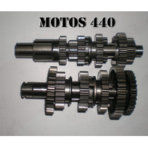 Caja De Cambios Completa Suzuki Ax 100 Motos440!!!