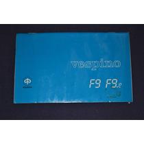 Vespino F9 F9e Manual De Usuario Original