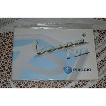Piaggio Vespa Et4 Manual De Usuario Original