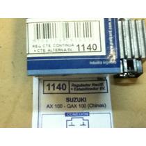 Regulador De Voltaje Pietcard Suzuki Ax100