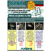 Kit Regulador De Luces Para Suzuki Ax 100