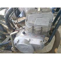 Motor Zanella 125 Xx Potenciado Funcionando Carburador Origi