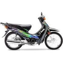 Kit Plasticos Zanella Hj 110cc Negra - 2r